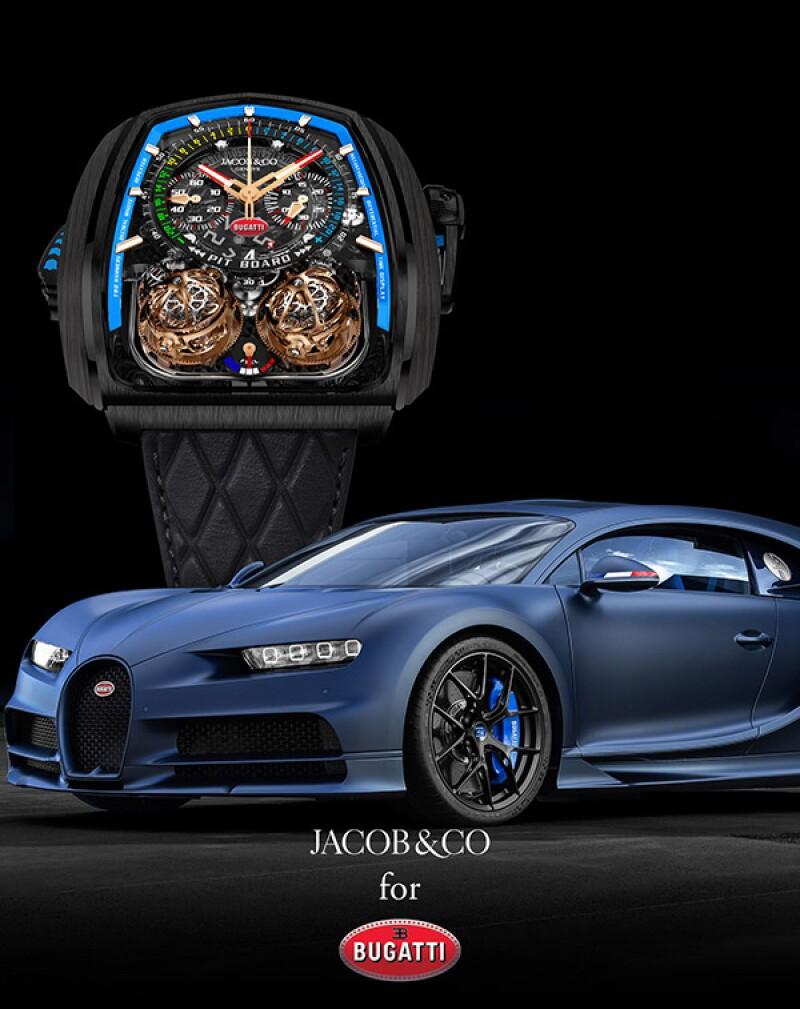 Epic X Chrono de Jacob & Co y Bugatti