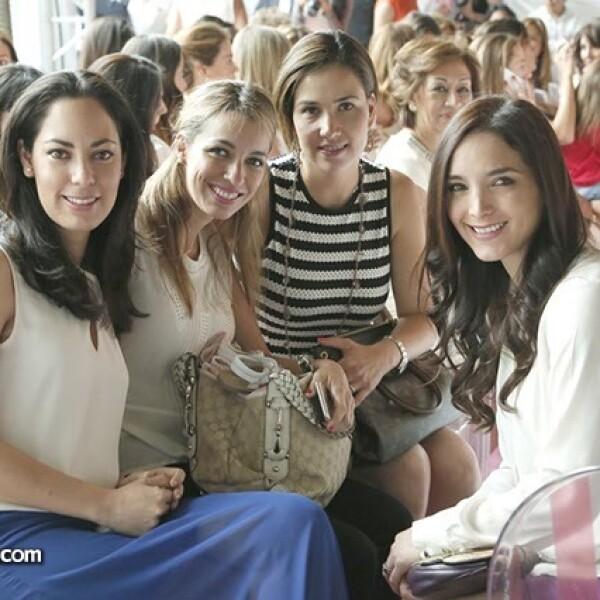 Ana Gallegos,Guadalupe Arzoz,Cristina Albeniz y Fabiola Gallegos