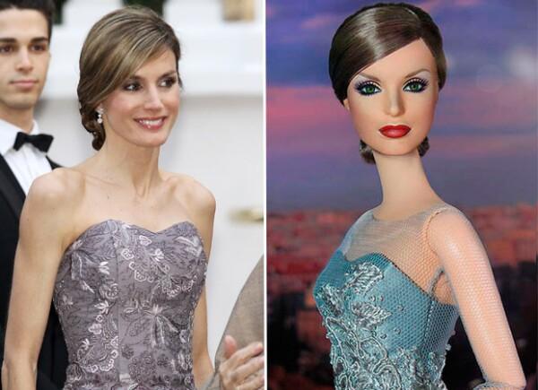 La reina fue convertida en Barbie, y es la pieza más esperada en la la Madrid Fashion Doll Show Convention, de coleccionistas de muñecas.