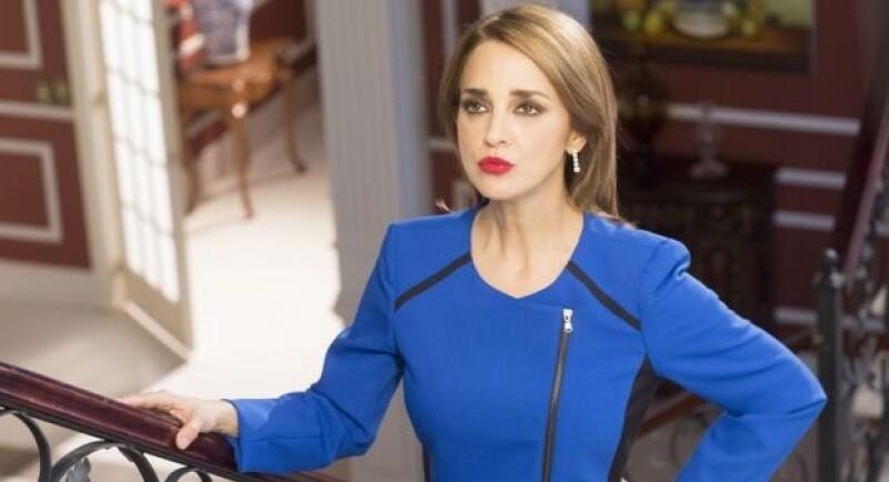 Regresó a las telenovelas para ser la villana de la historia.