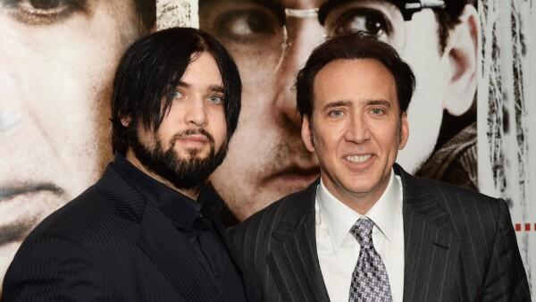Nicolas Cage y su hijo, Weston Cage.