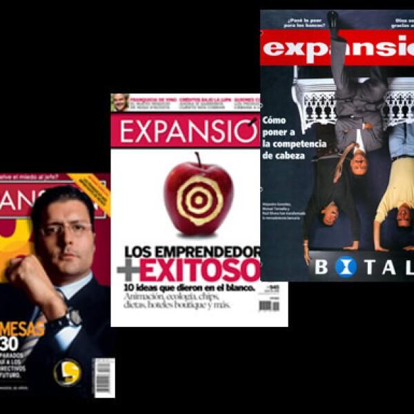 Expansión ha llevado el registro de los más destacados empresarios desde sus primeros pasos hasta la consolidación de sus éxitos.