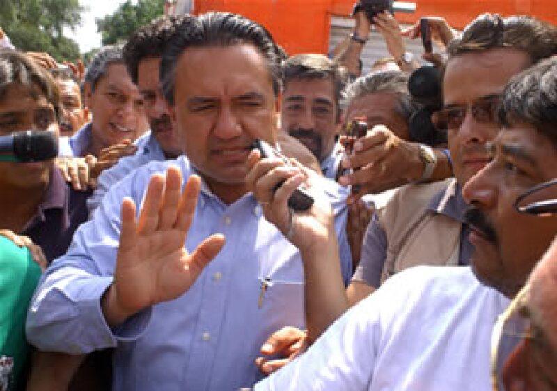 El líder del SME, Martín Esparza, dijo que defenderá a LyFC de la liquidación (Foto: Notimex)