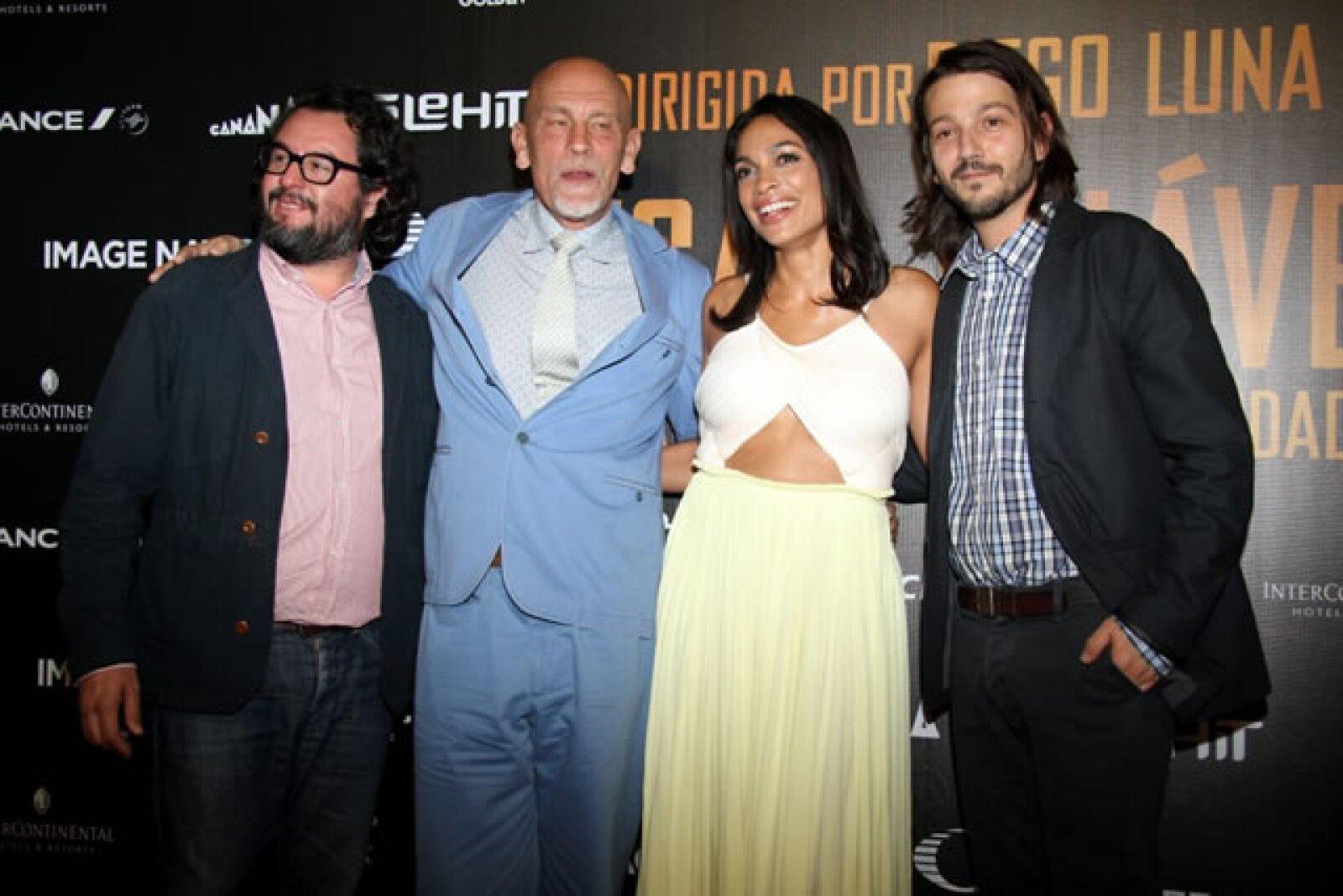 Pablo Cruz, John Malkovich, Rosario Dawson, Diego Luna.