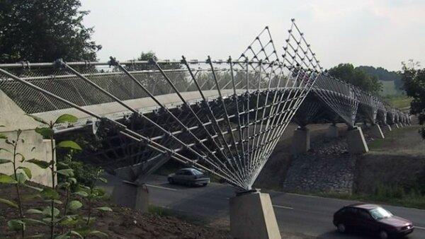 Mechtenberg Bridge, Gelsenkirchen, Alemania (Pritzker Academy)