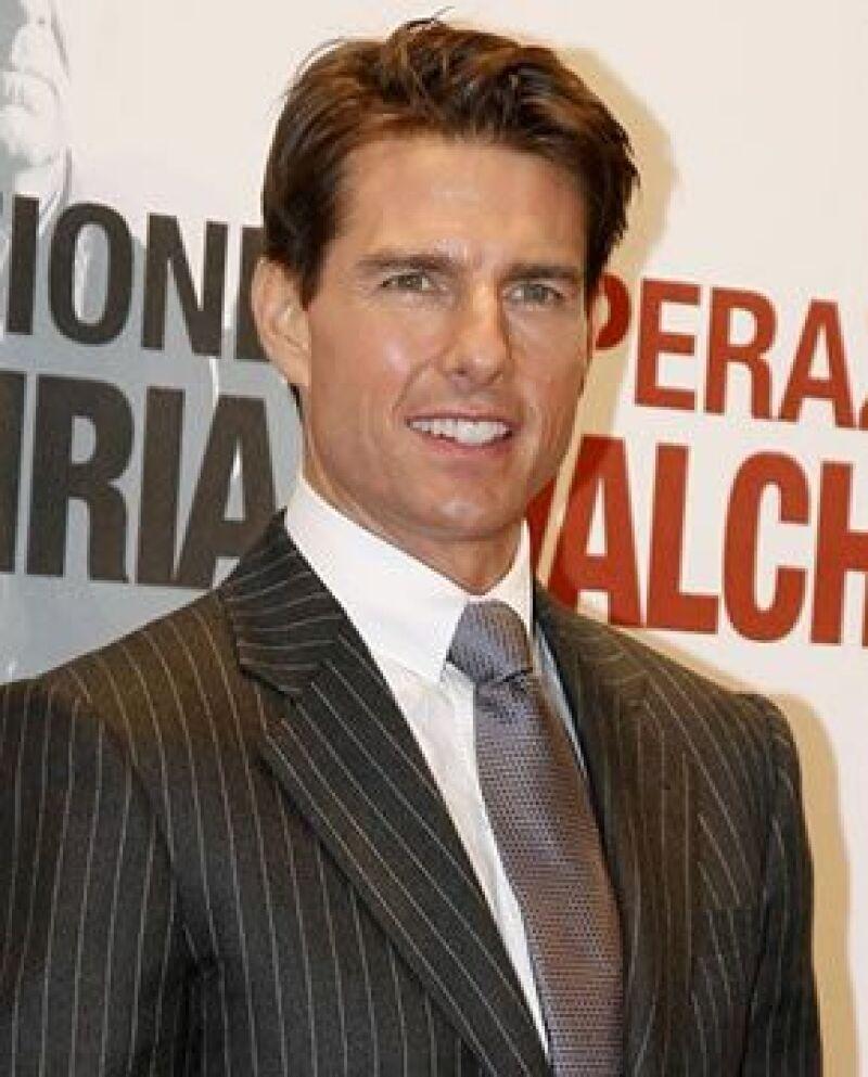 El actor llegó a Rio el día de hoy, acompañado por su esposa Katie Holmes y su hija Suri.