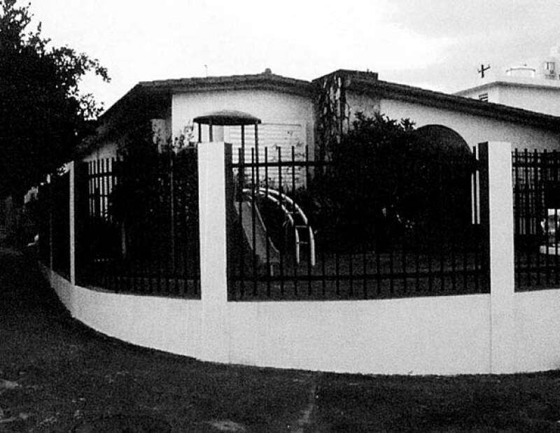 Los papás de Luismi lo llevaron a esta casa luego de nacer.