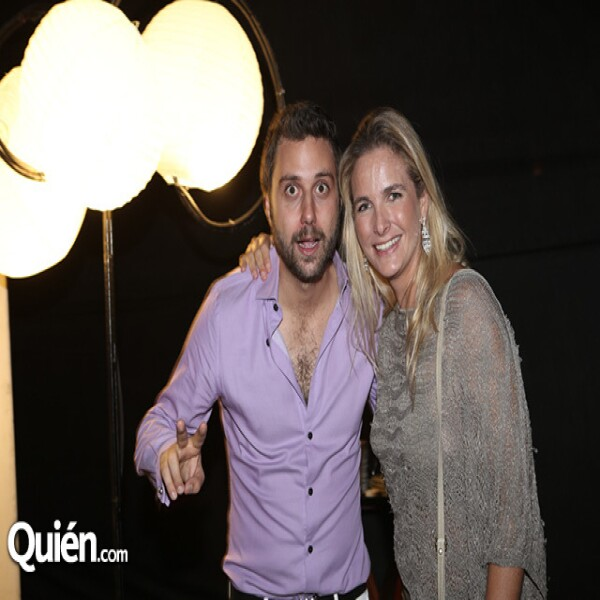Filippo Aronis y Paola García Sanjuán