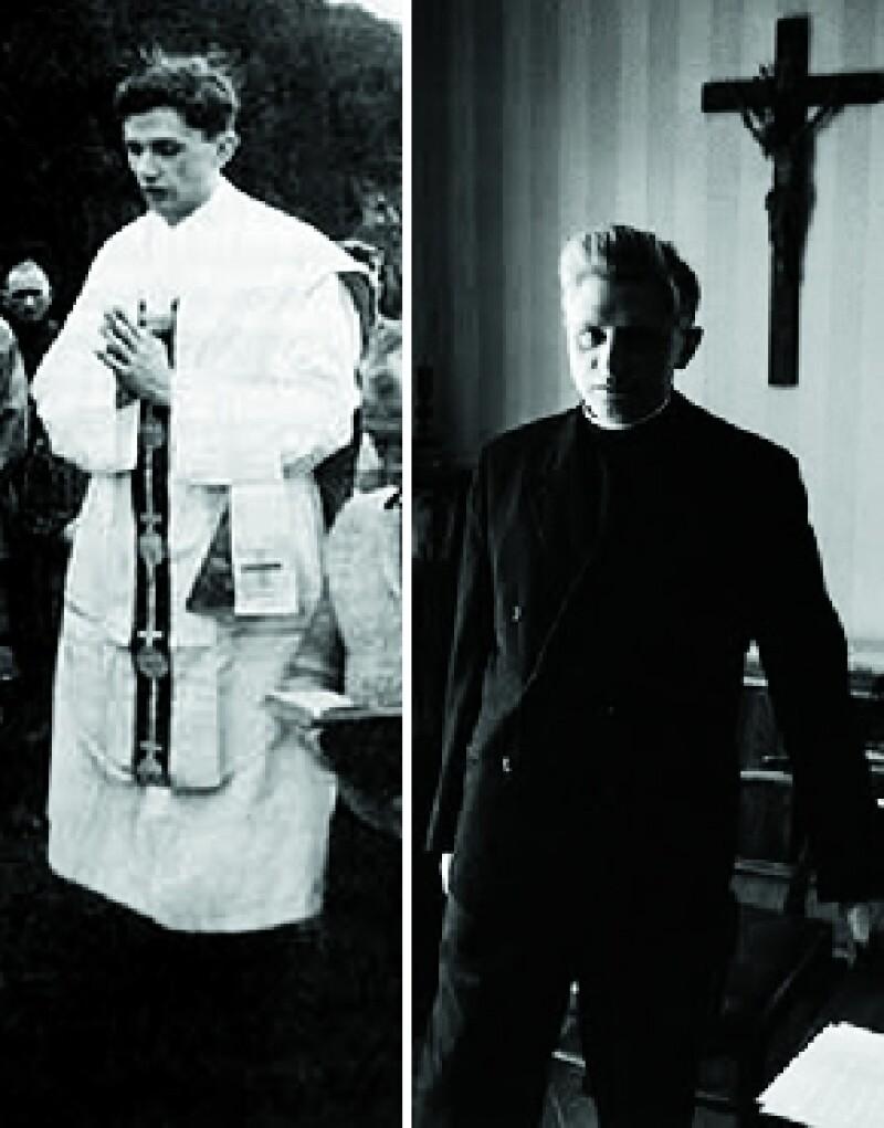 En 1951 se ordena sacerdote.