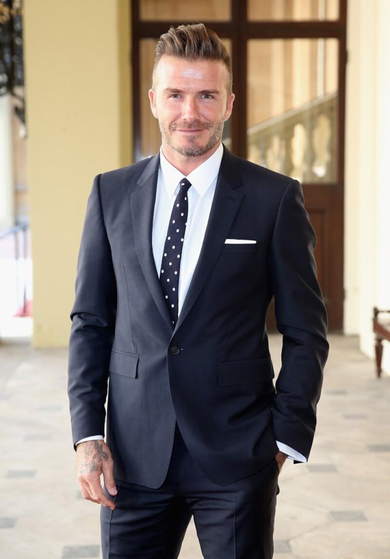 El ex futbolista y esposo de Victoria Beckham ha sido elegido el Hombre Más Sexy del Mundo de 2015 por la revista People.