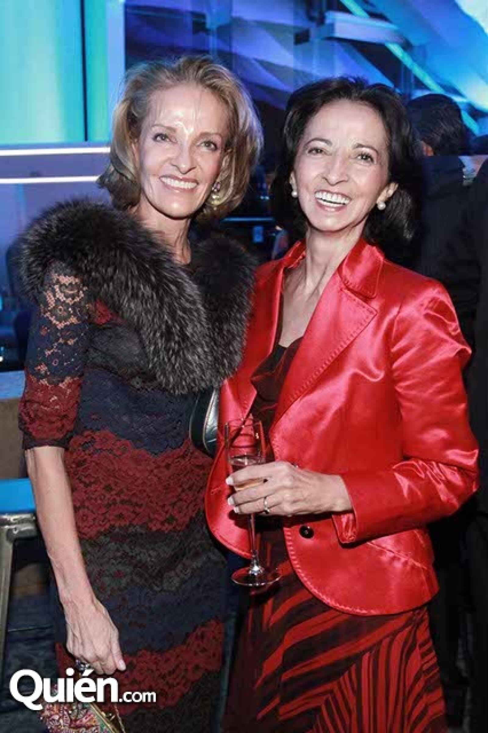 Lourdes Vargas y Luz María Mier y Terán