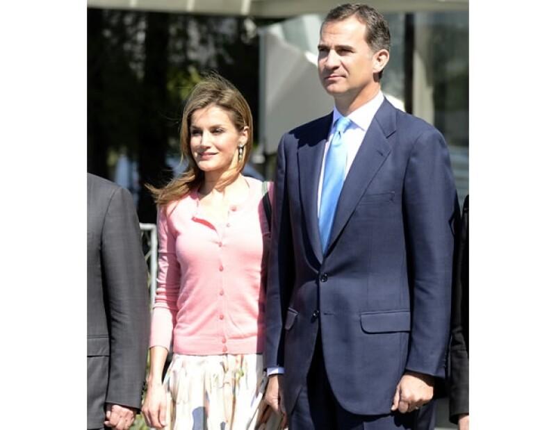 Letizia y Felipe asisten a eventos religiosos juntos, pero Letizia es atea.