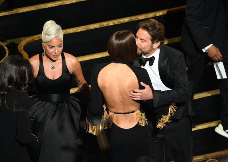 Lady Gaga, Irina Shayk y Bradley Cooper