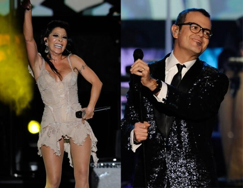 Alejandra Guzmán y Aleks Syntek interpretaron temas de Shakira.