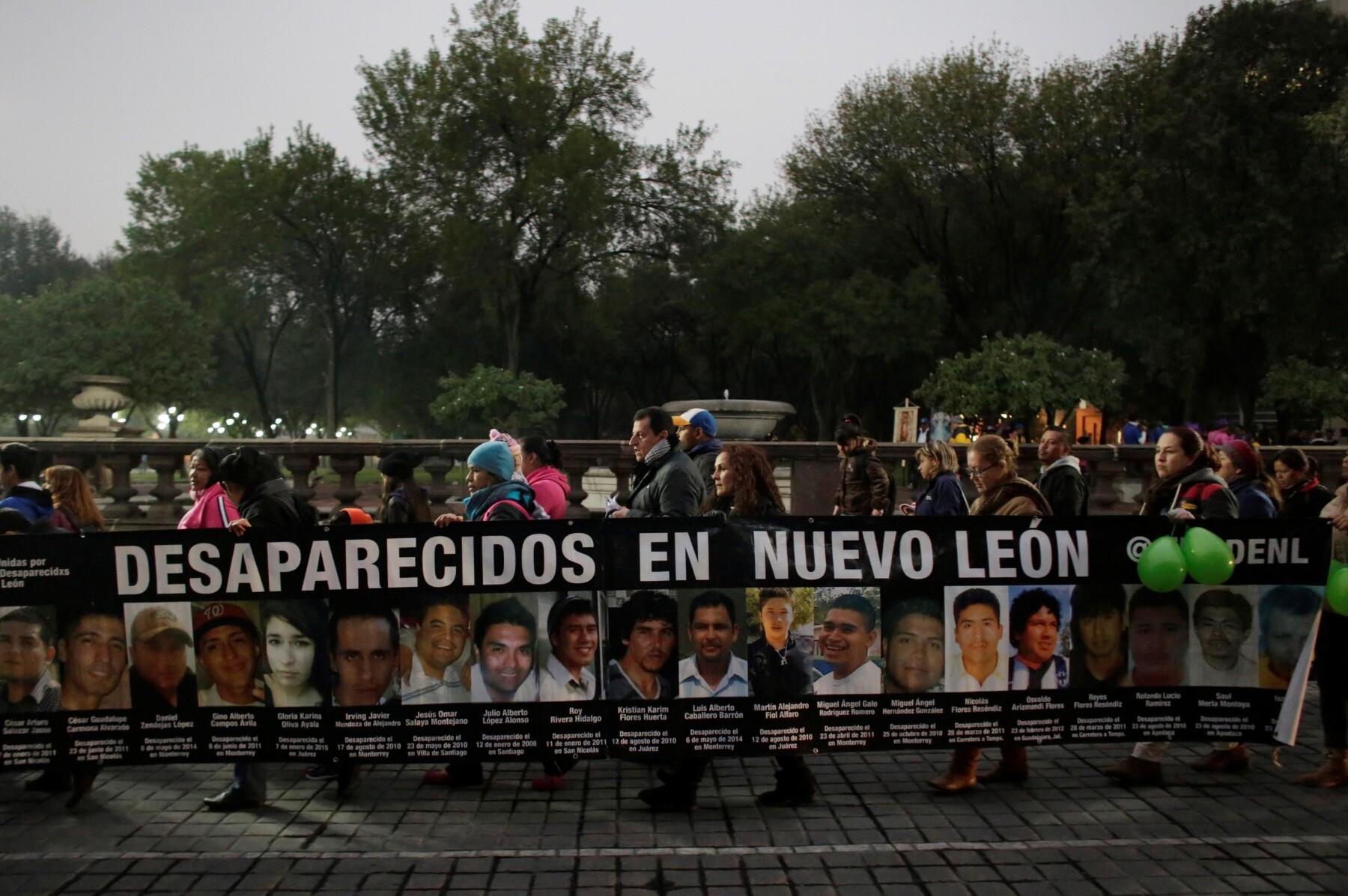 Desaparecidos en Nuevo León