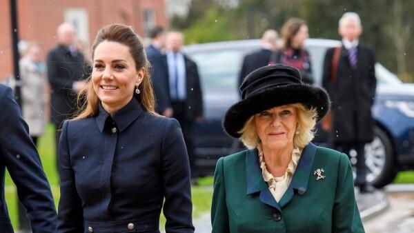 Kate Middleton y Camila Parker