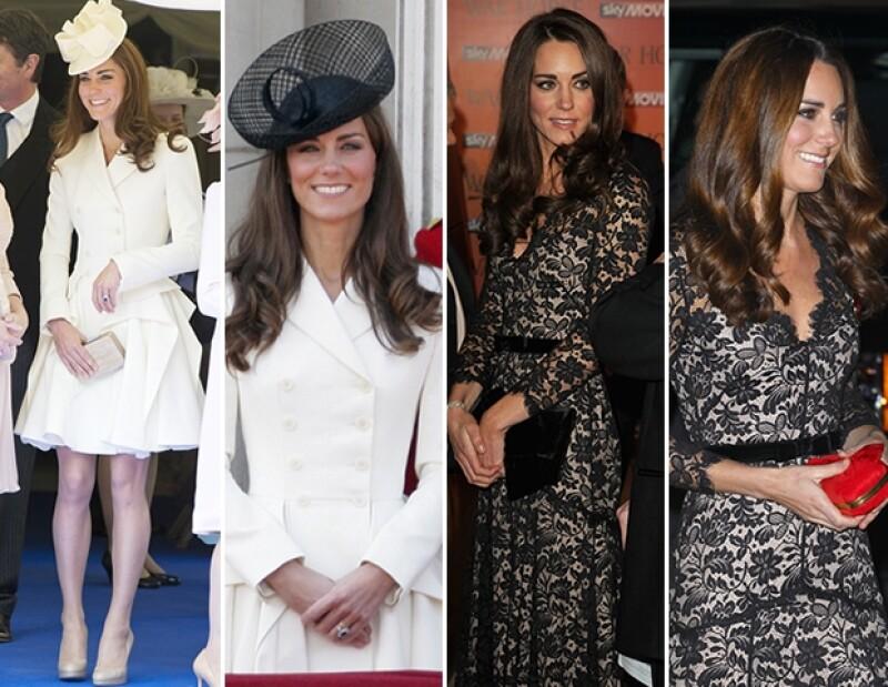 La Duquesa de Cambridge es de las más conocidas por su hábito de reusar sus prendas favoritas.