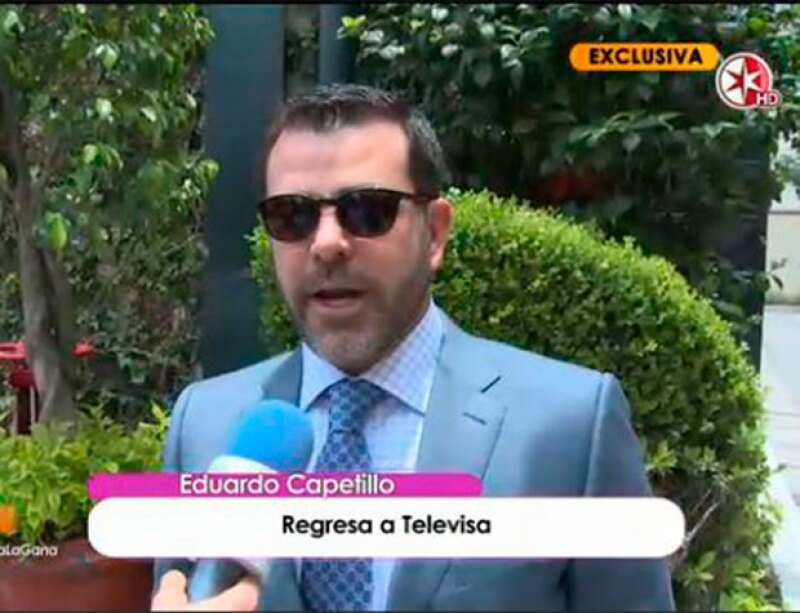 El actor, de 46 años, está a la espera de grabar una nueva telenovela para la empresa que vio nacer su carrera y sorprendió con su imagen.