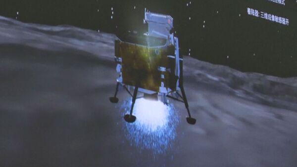 China es el primer país que aluniza en la cara oculta de la Luna