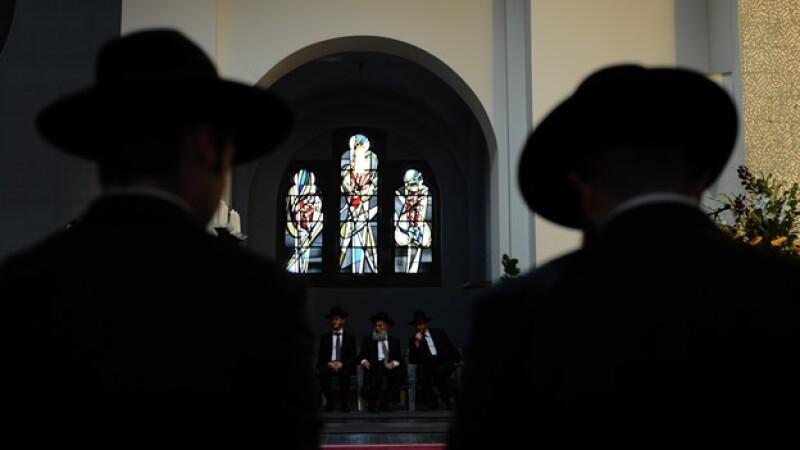 ceremonia para ordenar rabinos