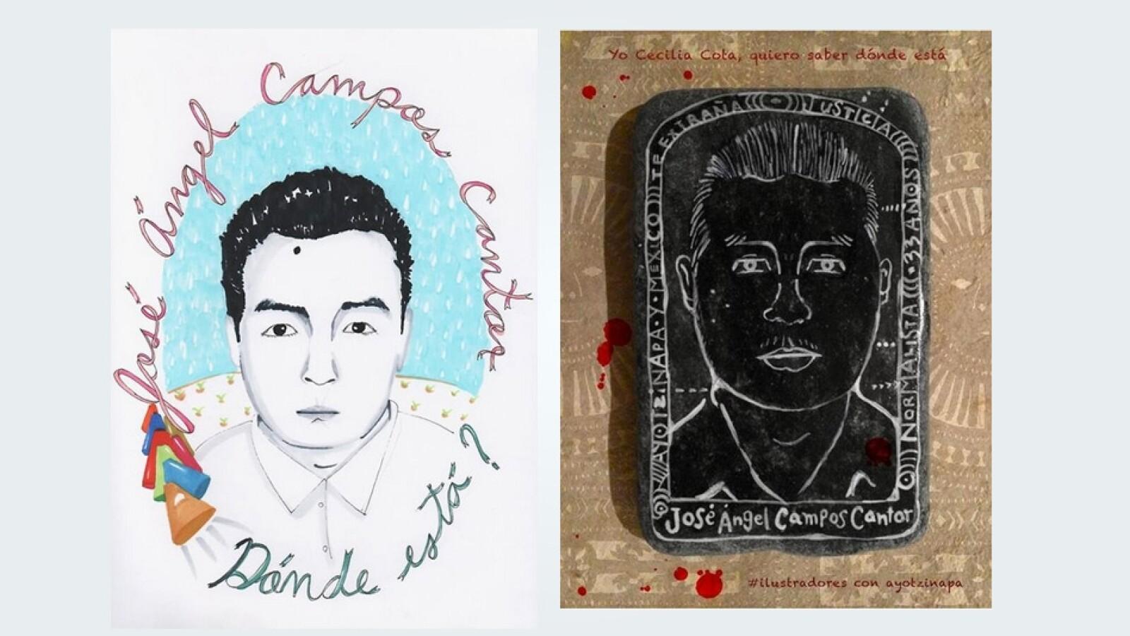 Jose Angel Campos Ayotzinapa
