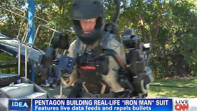 traje Iron Man Pentagono EU