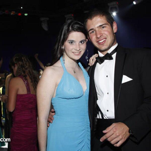 Alexandra Ares y Pablo Meade