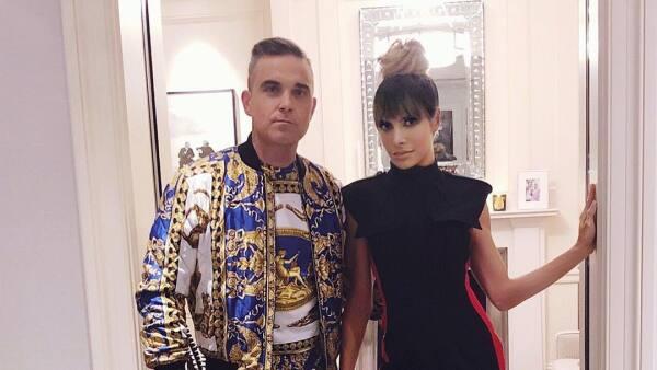 Ayda Field y Robbie Williams