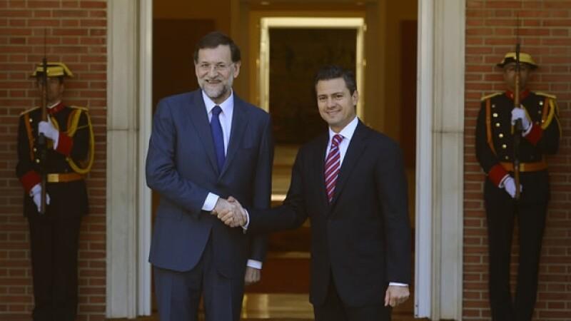 Enrique Peña Nieto se reúne con Mariano Rajoy