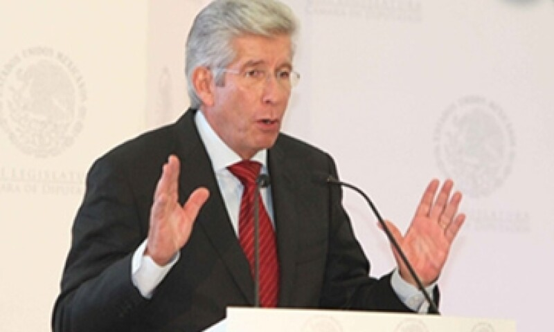Tras las sesiones de trabajo, el secretario Ruiz Esparza estará en México el martes 25. (Foto: Notimex )
