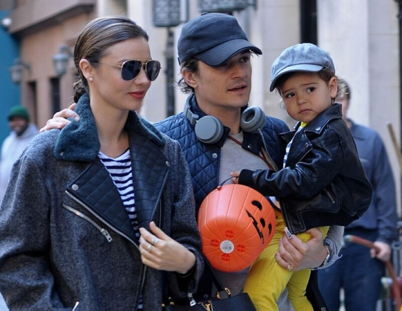 La modelo confesó en una revista que debido al trabajo de su ex pareja, ella se quedará en Nueva York para pasar dicha fecha con su hijo.