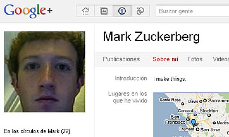 En su cuenta de Google+, Zuckerberg definió como su ubicación a Palo Alto, Calfornia. (Foto: Especial)