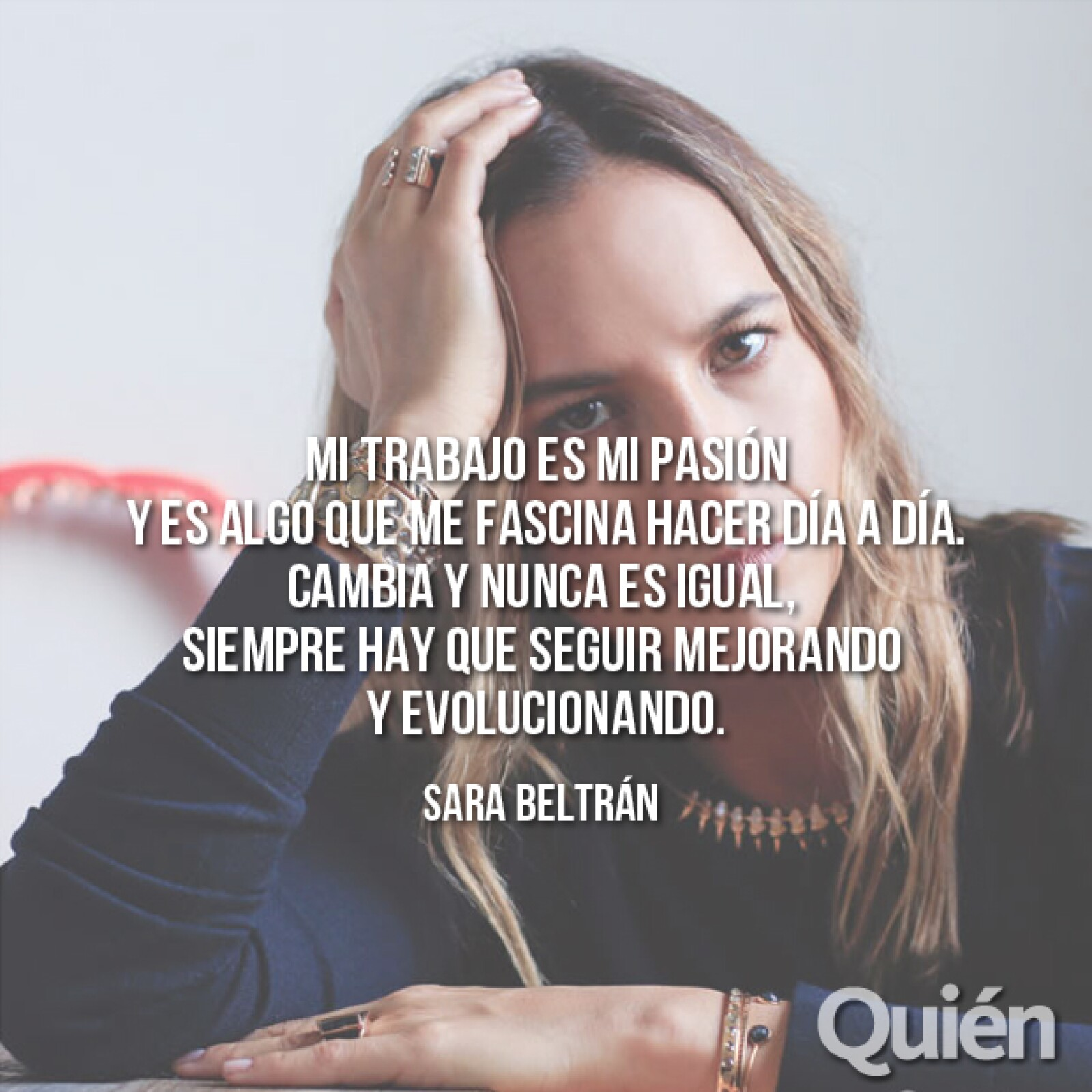 Sara Isabel Beltrán Austin, diseñadora de joyas y fundadora de Dezso. Amada por miles de editores y por Barneys.