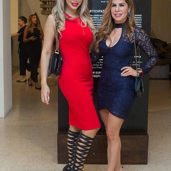 Desirée Ortiz y Gabriela Espejo