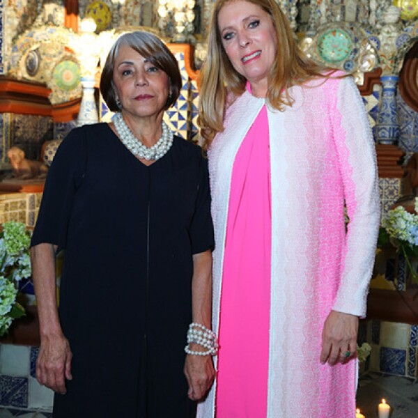 Amalia Serrano y Margie Ortiz
