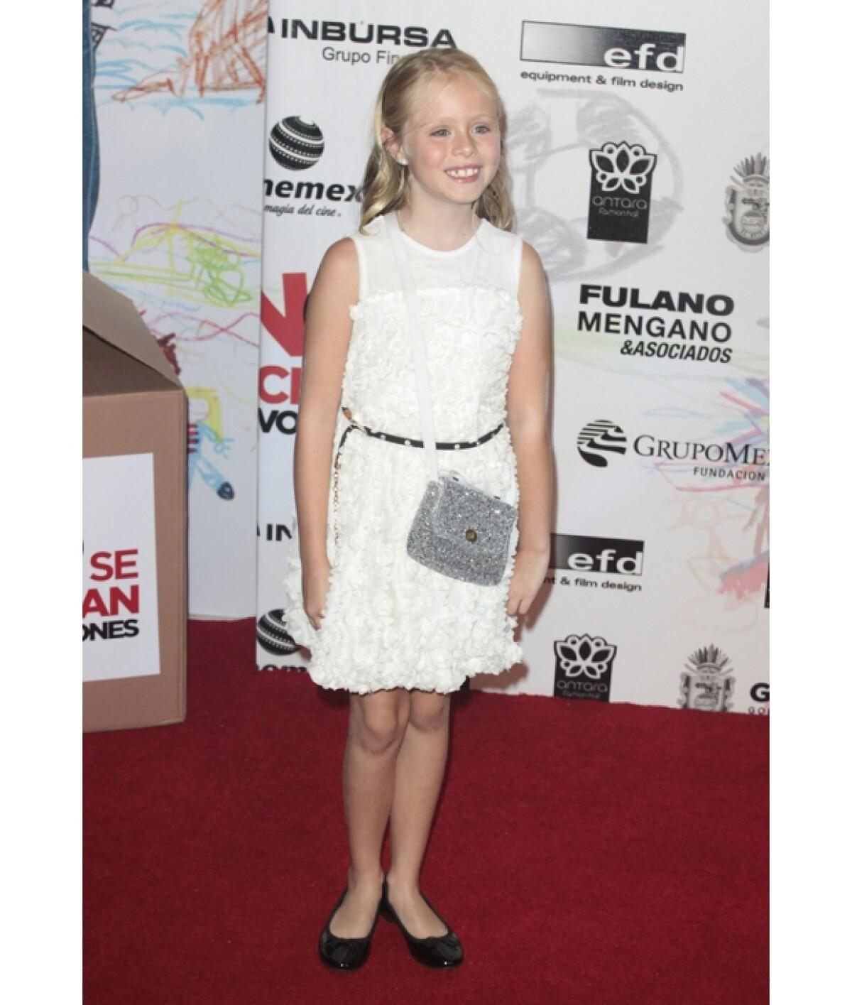 Loreto, nieta de Carlos Peralta, nos cuenta su experiencia como actriz