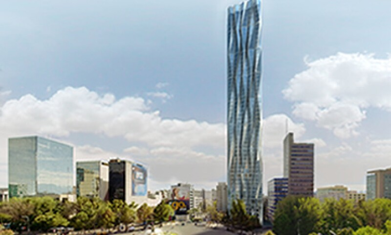 La construcción de la Torre R432 concluirá en 2015, necesitará una inversión de 110 mdd. (Foto: Cortesía:  Rojkind Arquitectos / R432 Residences by Buddha-Bar Hotels & Spa)