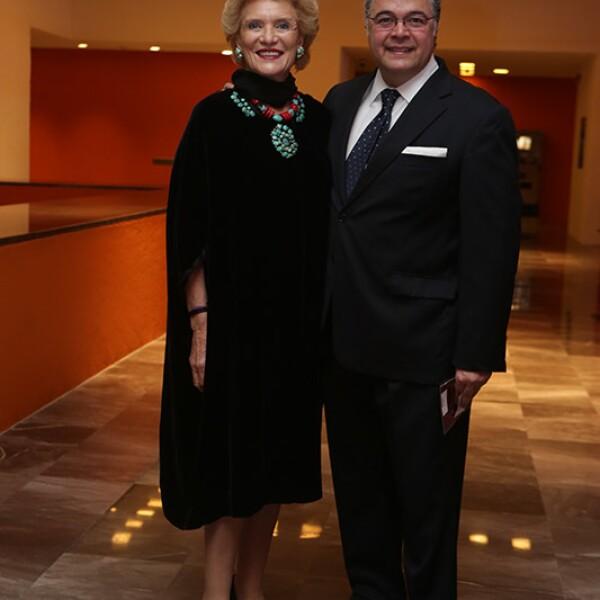 Viviana Corcuera y Martín Olavarrieta