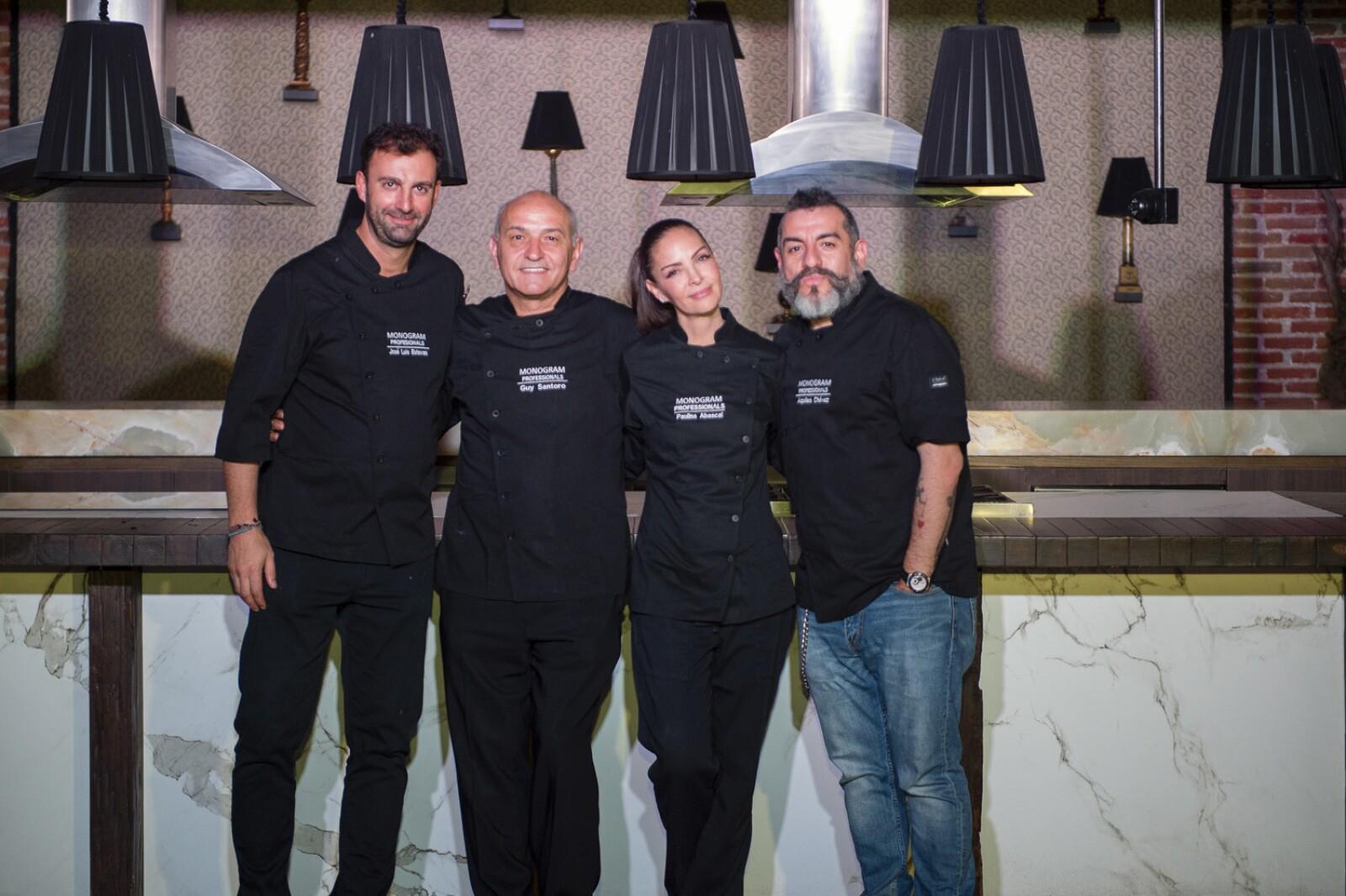 Jose Luis Estevan, Guy Santoro, Paulina Abascal, Aquiles Chavez.jpg
