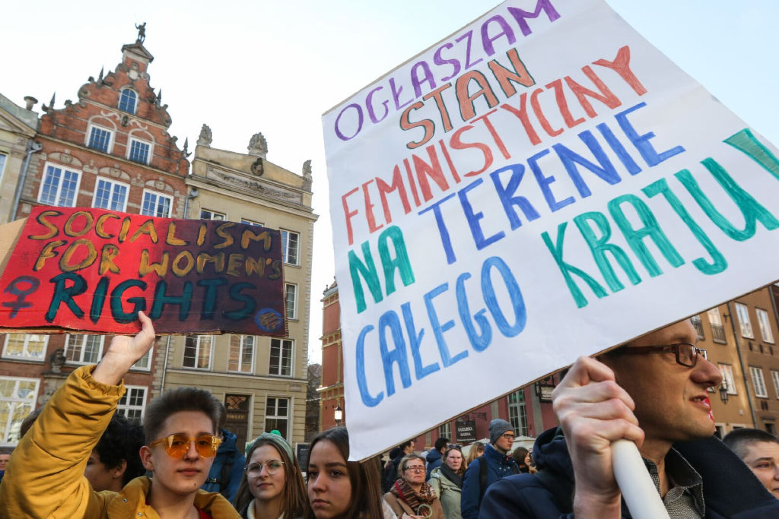 'Manifa 2020' - Annual Feminist and Woman Rights Rally In Gdansk