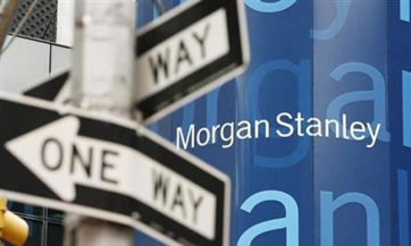 Morgan Stanley también reportó un impacto por la compra del 35% restante del joint venture de Smith Barney con Citigroup. (Foto: Reuters)