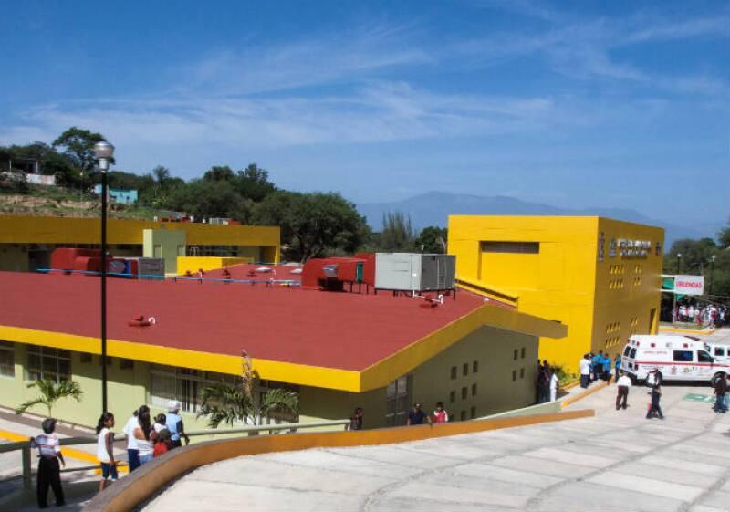 Infraestructura hospitalaria Oaxaca