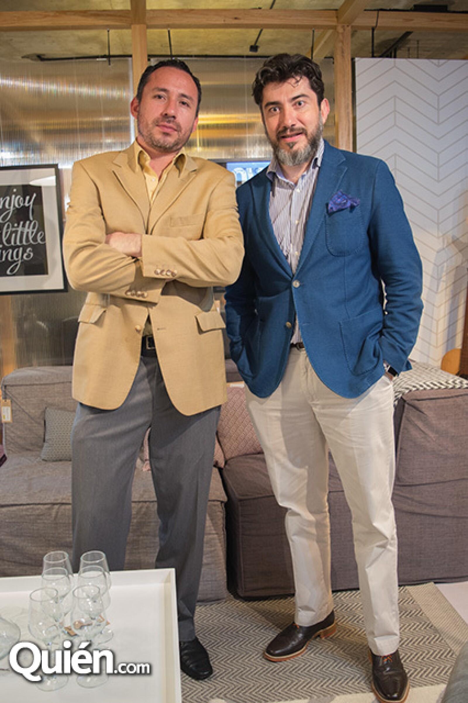 José Luis Camacho y Mauricio Villarreal