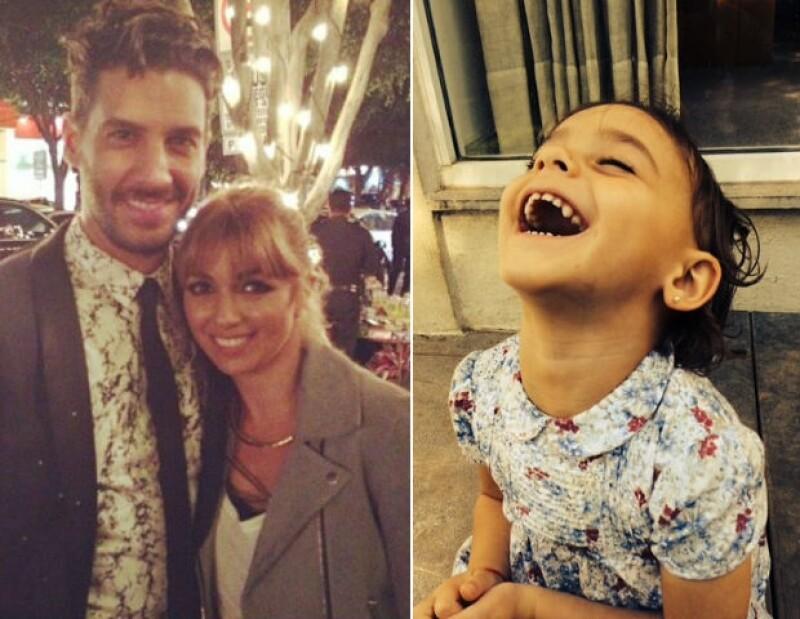 La hija mayor de la pareja llega a los tres años de edad y el importante día no pudo pasar desapercibido por el actor y su esposa, quienes la felicitaron en redes sociales.