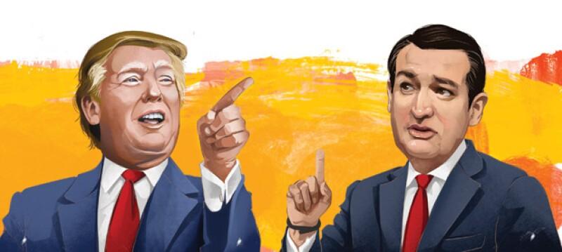Donald Trump empezó como broma, se tornó serio y ahora es una amenaza real pero su contrincante no es ninguna `perita en dulce´.