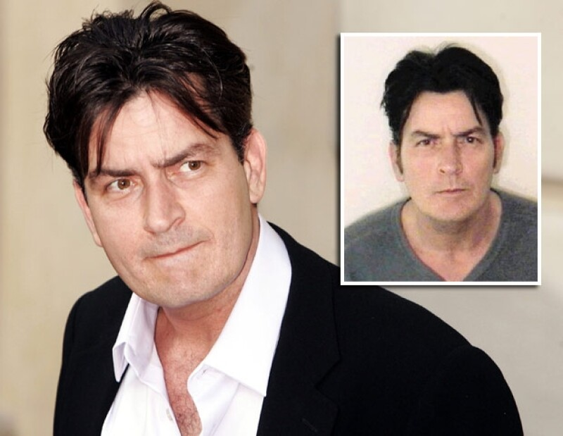 Charlie Sheen ha tenido problemas con su control de ira.