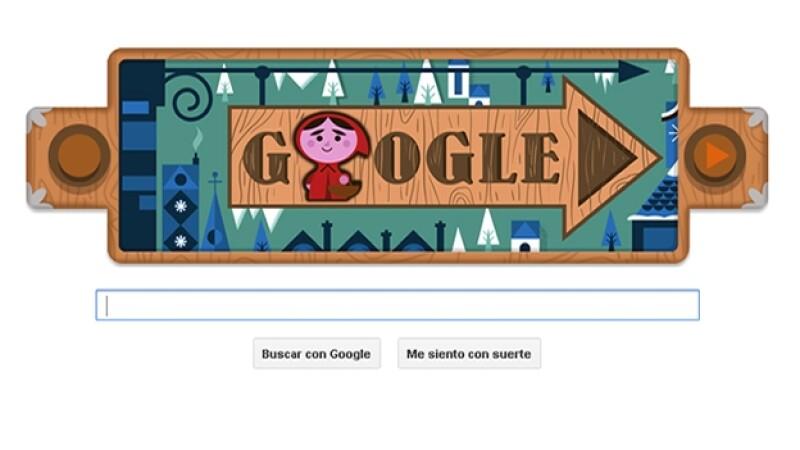 Google, doodle, hermanos grimm, cuentos de hadas, caperucita roja