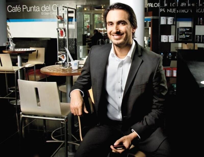 Pablo González creo un concepto en el café 100 % mexicano.