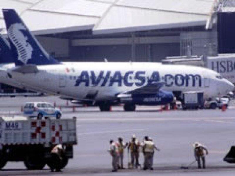 La compañía aérea esta envuelta en un pleito legal con la SCT (Foto: Notimex)