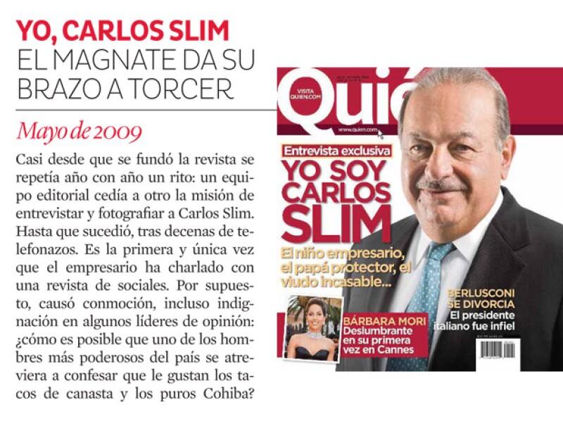 Hicimos lo que ningún medio de sociales en México, entrevistar al hombre más rico del mundo.